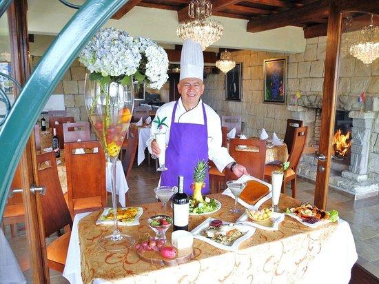 Villa de San Diego de Ubate, Colombia: Menú Internacional