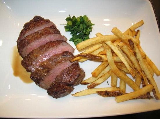 Chefs Club by Food & Wine:                   Properly Butchered Rib Steak w/ Pommes Frites
