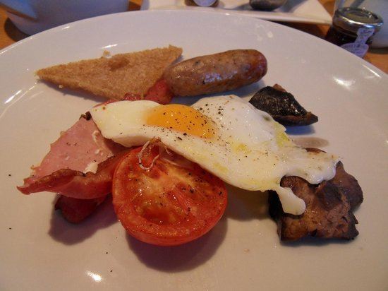 Salthouse Harbour Hotel: The breakfast