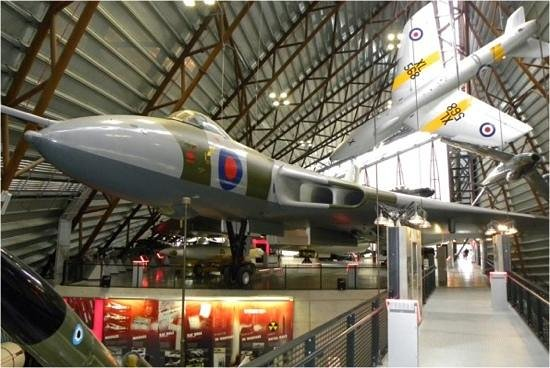 Royal Air Force Museum:                   Vulcan - Used to deploy nuclear weapons during the cold war