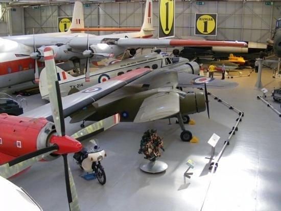 Royal Air Force Museum:                   Selection of aircraft