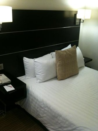 Mercure Manchester Piccadilly Hotel:                   Standard Room Bedsize.