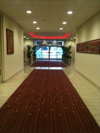 Mercure Manchester Piccadilly Hotel:                   Ground Floor Entrance.