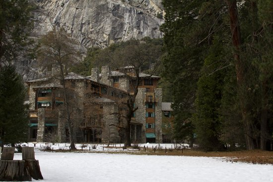 The Majestic Yosemite Hotel:                   The historic Ahwahnee