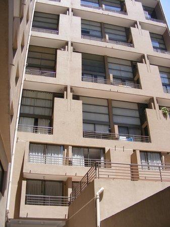 Andes Hostel:                   Vista dos apartamentos.