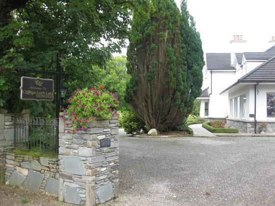 Loch Lein Country House: View from the Alternative Entrance