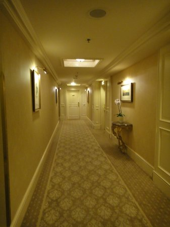 Grand Hotel Wien:                   the hallway again