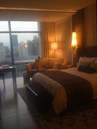 The St. Regis Bangkok: room before sunset