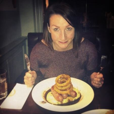 Redesdale Arms Hotel Restaurant:                   bigger than my head!!