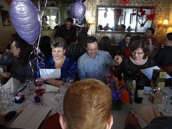 Vidalia Restaurant:                   Private Party at Vidalia 2/10/2013