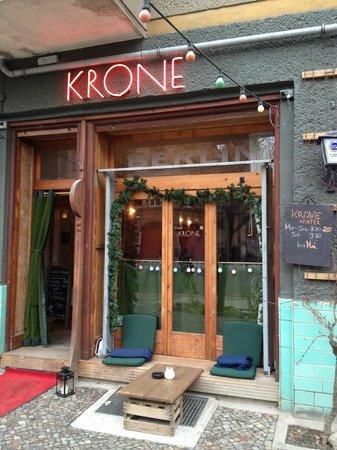 KRONE, kitchen & coffee:                   Cafè Krone, Berlin