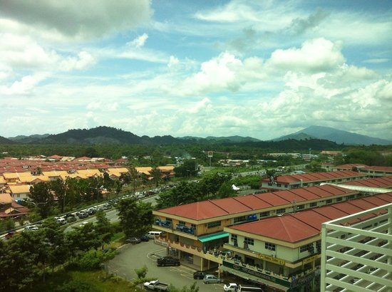 My Inn Hotel Lahad Datu: View from the room