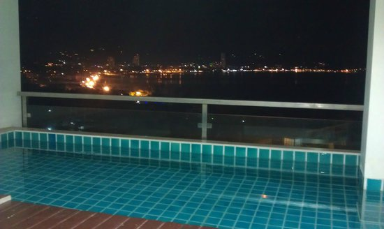 The Bay Cliff:                   Night view