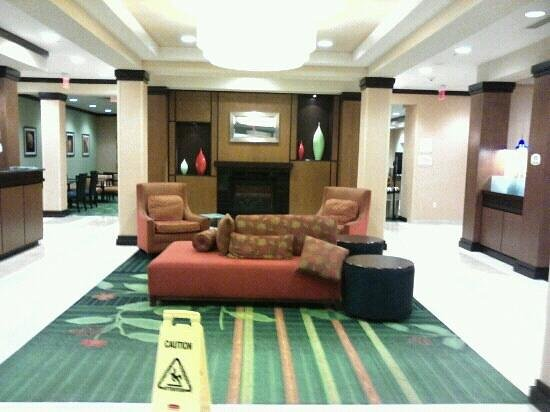 Fairfield Inn & Suites Louisville East:                   Main lobby/ front entrance