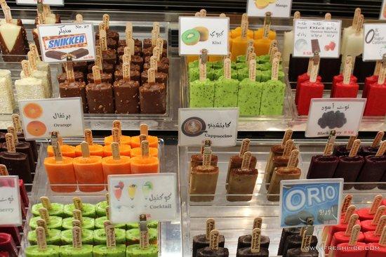 Freshi Ice Sticks Display Freezer