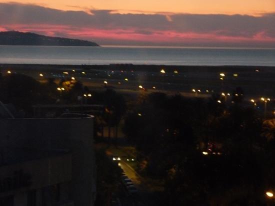 Novotel Nice Arenas Aeroport: Vista espectacular de la habitacion!