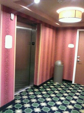 Fairfield Inn & Suites Louisville East:                   Nice elevators