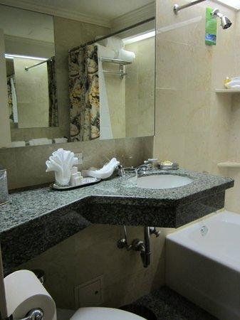 Hotel Monteleone: Vanity area