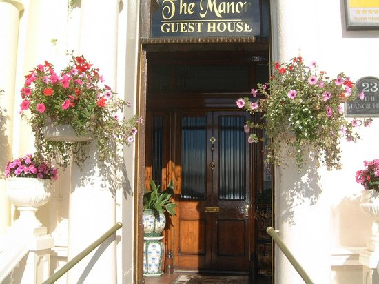 The Manor Guest House: Manor entrance