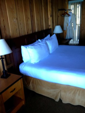Timber Cove Resort:                   Large bead and robes