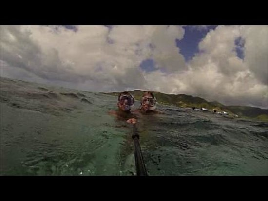 WCT - West Coast Tours Antigua: checking out the surface