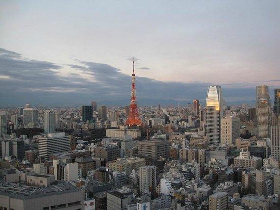 Park Hotel Tokyo:                   Oda manzarası