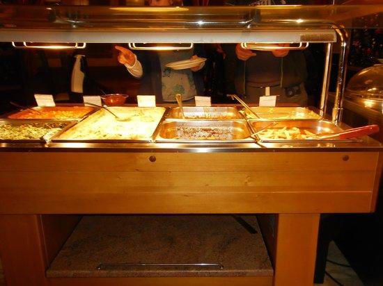Hotel Palarine:                                                                         buffet
