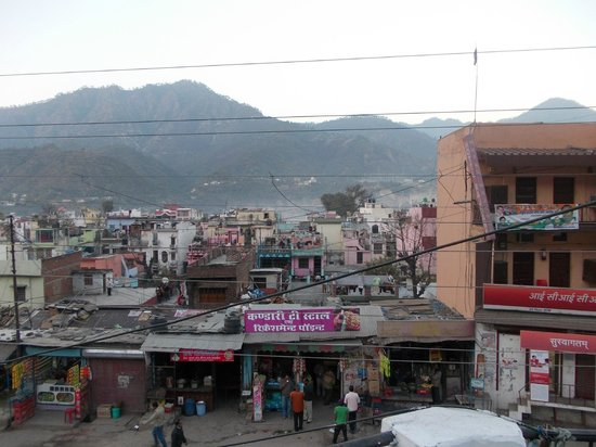 Pauri, India:                                     View from Room