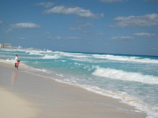 Royal Solaris Cancun:                   beach