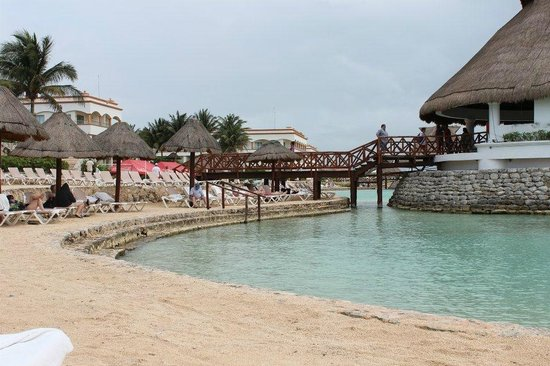Heaven at the Hard Rock Hotel Riviera Maya:                                                       beach area