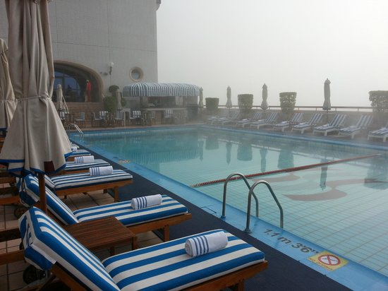 Crowne Plaza Dubai:                   Another pool pic