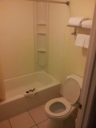 Red Roof Inn Orlando South - Florida Mall:                   Clean Bathroom