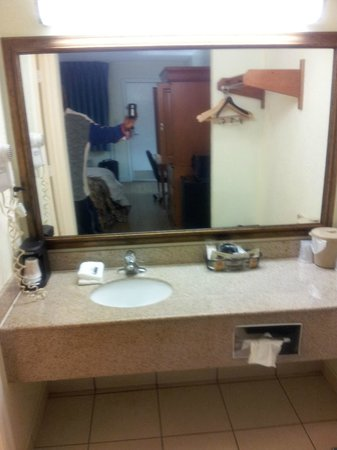 Red Roof Inn Orlando South - Florida Mall:                   Clean Vanity area