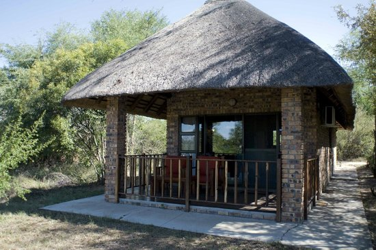 Gomo Gomo Game Lodge:                   Our chalet lodge at GomoGomo