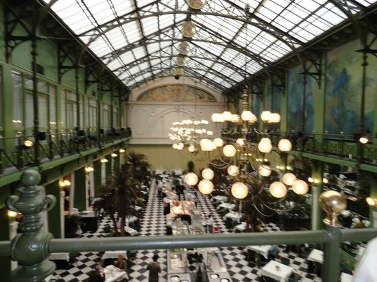 NH Collection Amsterdam Grand Hotel Krasnapolsky:                                     salle breakfast