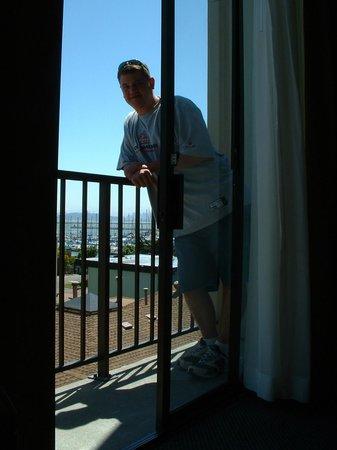 DoubleTree by Hilton Berkeley Marina: balcony