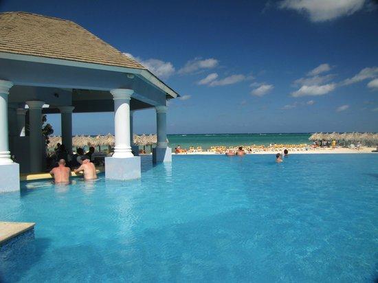 Iberostar Grand Hotel Rose Hall:                   Infinity Pool with swim up bar