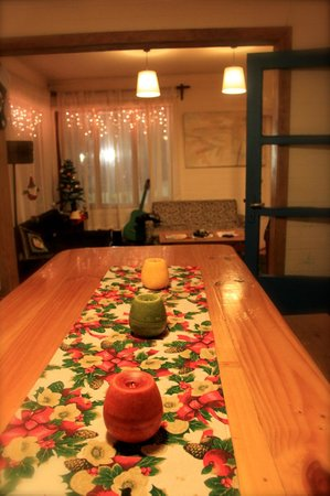 Hostal Vermont: Dining area