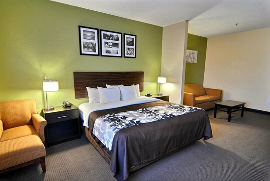 Sleep Inn & Suites: Whirpool Suite