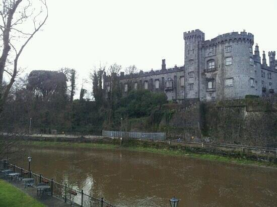 Kilkenny River Court Hotel:                   view from our suite