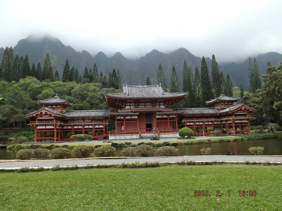 Byodo-In Temple:                   As serene a setting as you could ask for