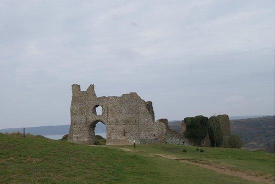 Pennard Castle Front