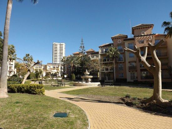 Marriott's Marbella Beach Resort : Resort Grounds