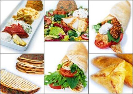 Fattoush: Lebanese meze