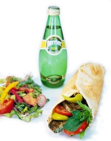 Fattoush: Lunch