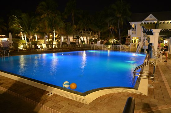 Southernmost Beach Resort:                   Hotel pool and restaurant