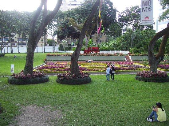 Pdvsa Centro de Arte La Estancia : Jardines