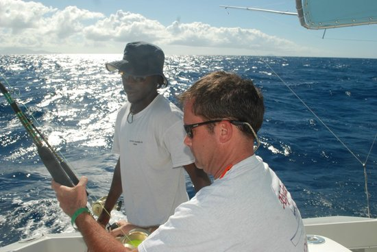 Mystic Amara III - Deep Sea & Bottom Fishing Charters: sunshine!