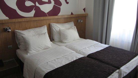 Dahlia Inn: beds