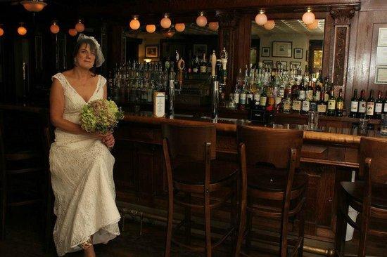 The National Hotel Restaurant and Bar :                   The beatiful bar!